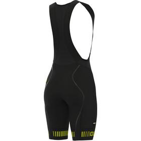 Alé Cycling Graphics PRR Strada Bibshorts Damer, black/fluo yellow